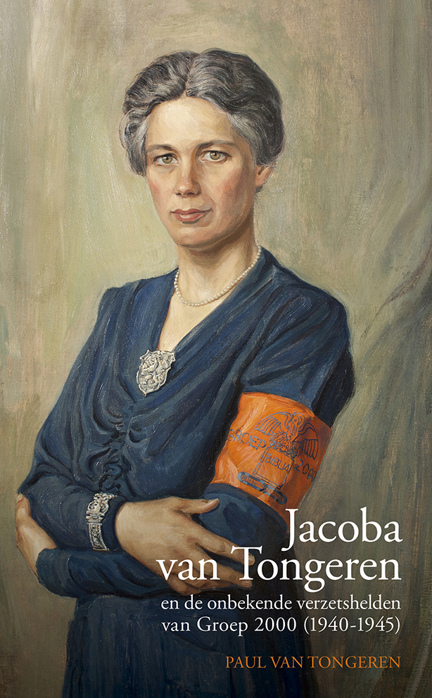 Boek cover, Jacoba van Tongeren.